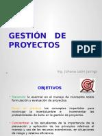 Presentación Clase Gestión de Proyectos Ingeniería Química Completa2016-2