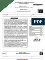 Analista Farmaceutico Bioquimico 07