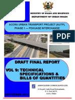 Vol 9. Autp - Draft Final Report _ Technical Specs & Boq_sept 15