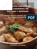 La Cocina Española y Su Universo de Salsas y Aromas