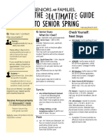 Ultimate Guide to Senior Spring