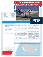 USCG's Medium Range Surveillance Aircraft - C27J