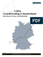 Crowdinvesting Marktreport 2016 Crowdfunding.de
