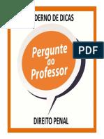 Caderno de Dicas - d. Penal