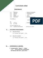 Curriculum Vitae Antony Casana (1)