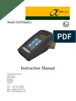 1405 SADPminiEx User Manual