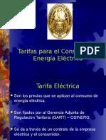 1 Tarifas Del Consumo de Energia Electrica