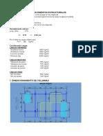Dimencionamiento de Elementos Estructurales 1