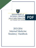 ObGyn Handbook2011 2012 | Residency (Medicine) | Family And