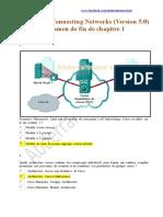 CCNA 4 Correction Examen de Fin de Chapitre 1 Connecting Networks ( Version 5 Francais )