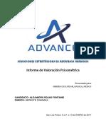 Aplicación Wais IV Fontaine