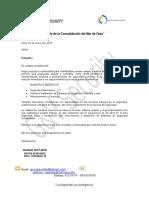 Carta de Presentacion Seguridad Electronica