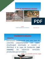 Proceso Constructivo Pavimento Rigido