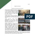 News Report (Alleyways)