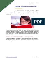 215305891 Ejercicios Para Mejorar El Nivel Lector de Los Ninos Dislexicos