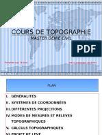 Cours de Topographie2017