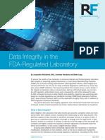 RF 2014  Data Integrity Reprint