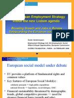 Estrategia Europea de Empleo