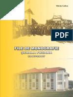 File de monografie-Scoala Pogana 1907-2007