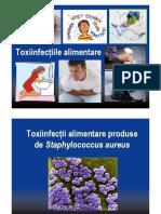 Toxiinfecții Alimentare Produse Staphylococcus Aureus