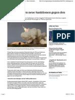 USA verhängen neue Sanktionen gegen den Iran - News International