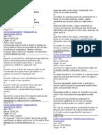 Exercicios Organização Da Adm Publica