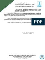 Resolucao (Ppgletras-cptl) n 238, De 25-11-2016 - Regulamento Do Curso