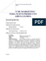 Plan de Marketing Miel de Abeja Gloria Utilizando Software p