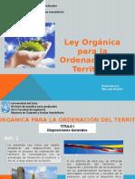 Ley Organica Para La Ordenacion Del
