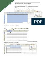 Apprendre Excel Tablaux