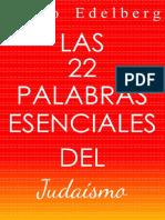 Las22 PalabrasEsencialesdelJudaismo.pdf