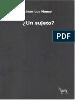Un sujeto - Jean Luc Nancy.pdf