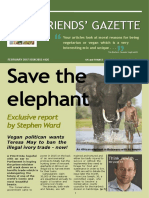 FRIENDS' GAZETTE - JAN/FEB2017