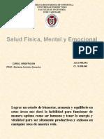 Salud Fisica, Mental y Emocional