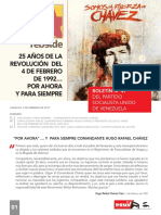 Boletin_N°47 del Partido Socialista Unidos de Venezuela PSUV