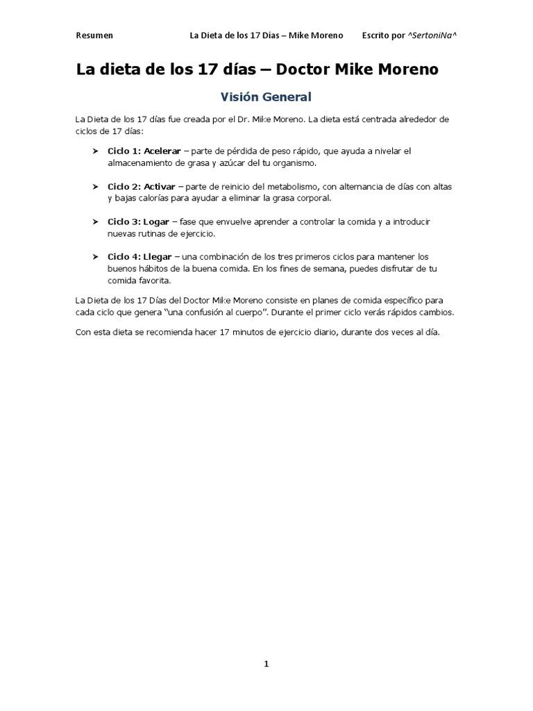 planes de comida de pérdida de grasa pdf
