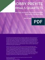CA21123 Terminals Quartets ITunesBooklet