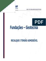 8. Recalque e tensão admissível.pdf