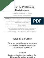 Análisis de Problemas Decisionales (DAE)