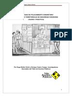 ESTRATEGIA DE POLICIAMIENTO COMUNITARIO PARA COMITES TERRITORIALES DE SEGURIDAD CIUDADANA (TEORÍA Y PRÁCTICA)