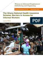 Alfers Ghana Health Insur Informal Workers WIEGO WP30