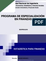 Estadística Para Finanzas - SEUPROS