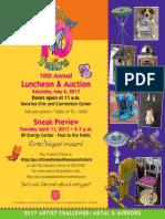 Transformed Treasures Luncheon Flyer