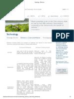 Technology - BioHaven