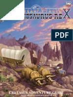 Dinosaur Planet - Broncosaurus Rex - Cretasus Adventure Guide