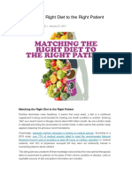 Medscape - Anya Romanowski - Matching the Right Diet to the Right Patient