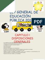 Ley General de La Educaión Pública