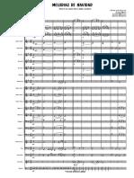 Melodias de Navidad. Score Full