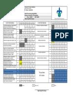 Plan Calendarizado FS y EQ 403-17
