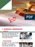 Presentación Reglamento de Evaluacion